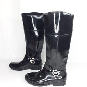 Michael Kors rain boots galoshes size 6 rubber boo